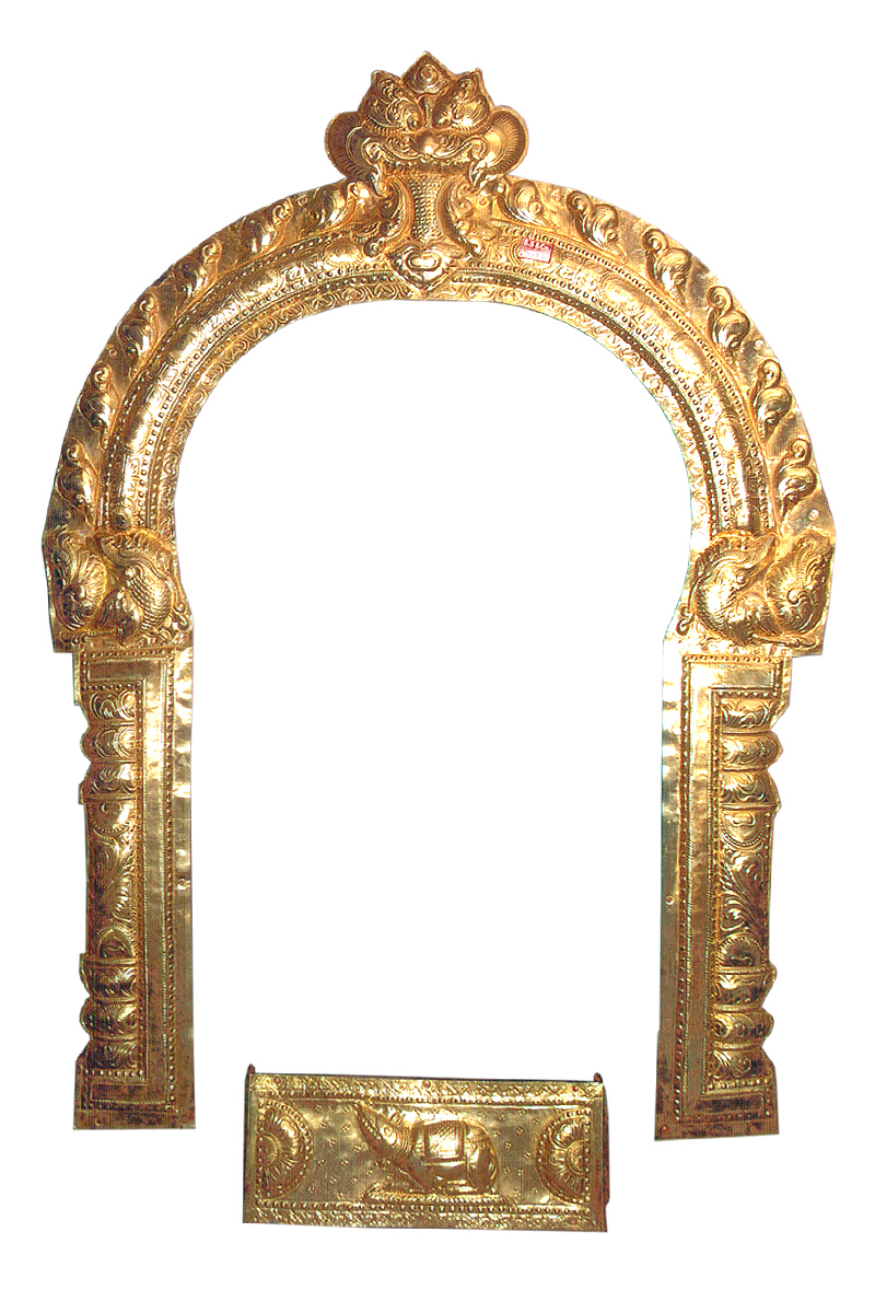 BRASS SHEET MADE PRABHAVALI