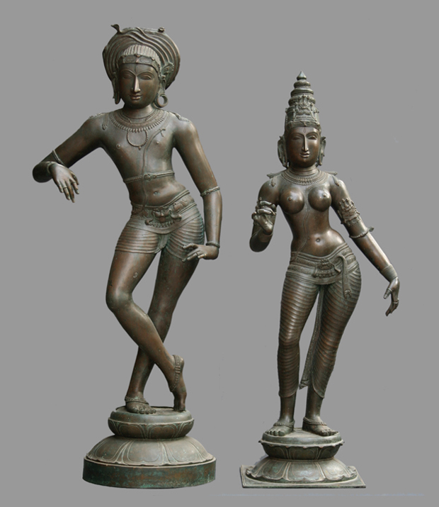 BRONZE RESHABA DEVAR AND SHIVAGAMI