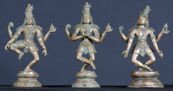 BRONZE SHIVA THANDAVAM