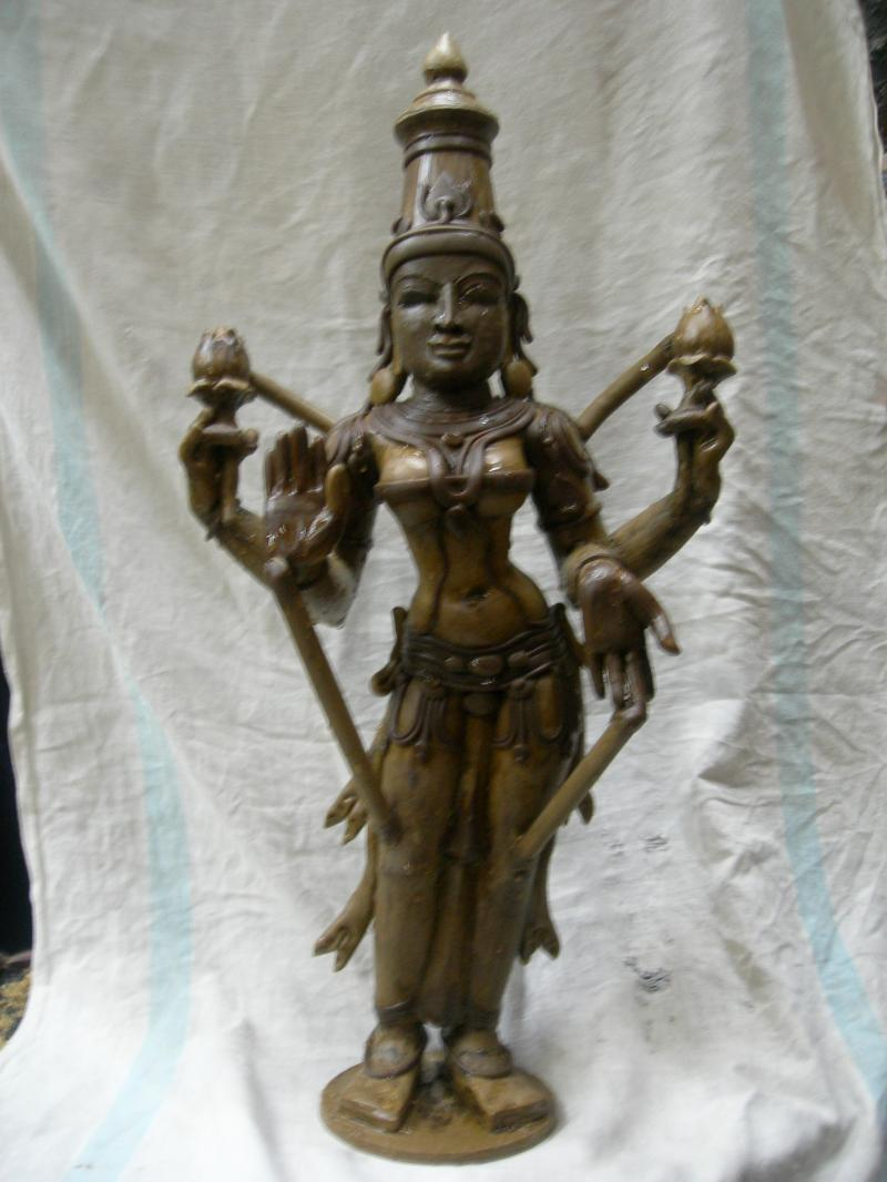 WAX MODEL OF LAKSHMI STAGE TWO