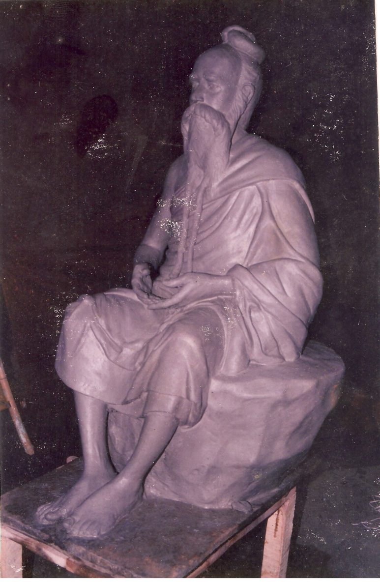 CLAY MODEL OF GURU JI