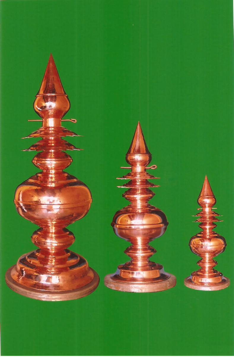 COPPER GOPURA KALASAM