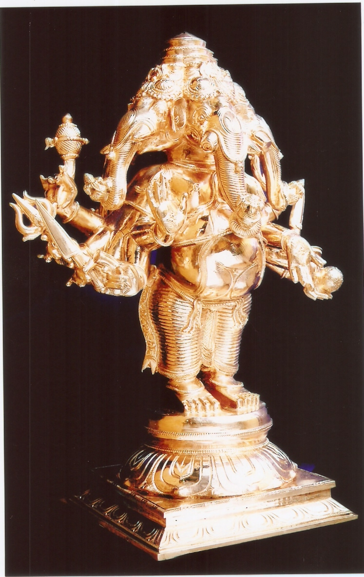 PANCHAMUGA GANAPATHI SIDE VIEW