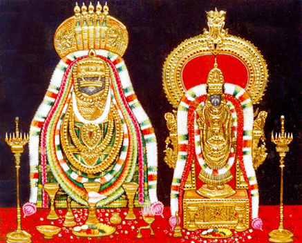 TANJORE PAINTINGS OF ANNAMALIAR