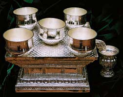 PURE SILVER MADE VATIL VESSELS